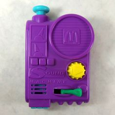 McDonald's Toy Sound Machine Noise Maker, it looks like a Morpher to me!