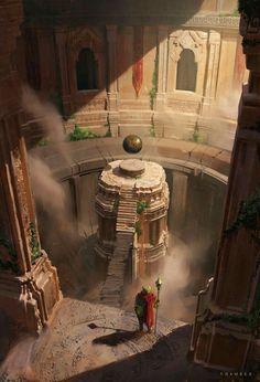 Fantasy City, Fantasy Places, Fantasy Map, Fantasy World, Fantasy Art Landscapes, Fantasy Landscape, Landscape Art, Fantasy Concept Art, Fantasy Artwork