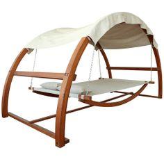 Canopy Swing Outdoor Bed | Overstock.com Shopping - Great Deals on Hammocks/Swings