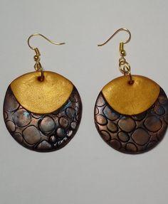 """Ohrringe """"Fancy Metall"""" schöner Unikat Preis: Euro --- Earrings """"Fancy Metal"""" beautiful Price: Euro --- Pendientes """"Fancy Metal"""" hermosa a mano Precio: Euro --- Fancy, Classic Outfits, Jewelry Shop, Latest Fashion Trends, Etsy, Crochet Earrings, Creations, Drop Earrings, Gifts"""