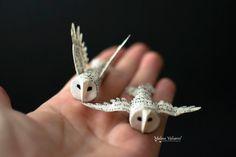 Owl Owl - papier 3D Bird - par MALENA VALCARCEL