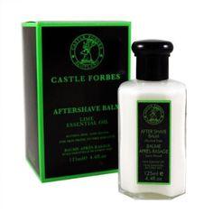 Lightweight and quick-absorbing lotion by Castle Forbes soothes and moisturizes in grand fashion and absorbs easily with no shine or greasy feeling. Mild, refreshing, and smells great!