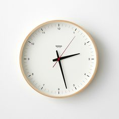 The most precious thing we have is time. So why overcomplicate it? This modern clock is clean and simple – just like life should be. Its timeless design also makes it a natural fit for any living space. Minimalist Wall Clocks, Plywood Walls, Wall Watch, Kitchen Clocks, Modern Clock, Wall Clock Design, Life Design, Black Mirror, Design Awards