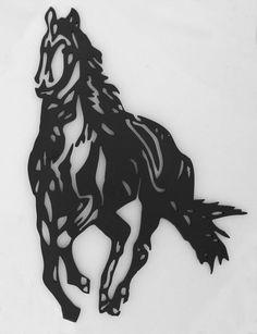 metal horse wall art