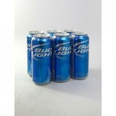 bud light can 6 pack | Budweiser Light 16oz 8-pack Cans | Liquor Mart Boulder CO