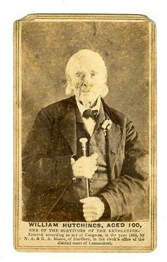 William Hutchings, age 100 in 1864. Survivor of Revolutionary War.