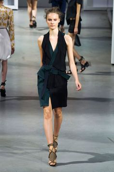 Kimono Cool, Plunging Neckline, Open Shoulder