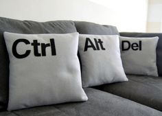 35 Tech-inspired Pillows for Geeks