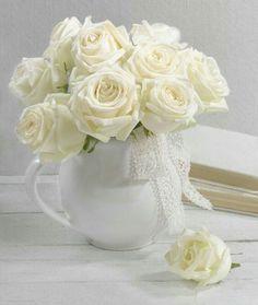 Our key principles are Fairness, Ability, Creativity, Trust and that's a F. Beautiful Flower Arrangements, Romantic Flowers, Pretty Flowers, Fresh Flowers, White Flowers, Floral Arrangements, White Heaven, Bouquet Champetre, Rose Cottage