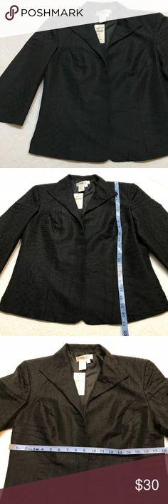 Coldwater Creek Size Petite Small Blazer Black New Coldwater Creek brand new with tags  Dressy black blazer Size S/P Coldwater Creek Jackets & Coats Blazers