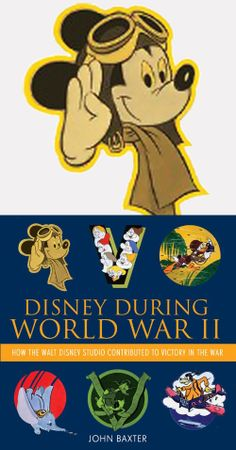 Disney During World War II: How the Walt Disney Studio Contributed to Victory in the War  -- Hardcover (192 pages) -- Walt Disney deeply invested himself in the war by patriotically placing his studio at the disposal of Uncle Sam, producing films, shorts and features, home front posters and stunning military unit insignias that provided those serving the in the armed forces with a morale-boosting reminder of home. #WWII #History