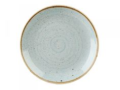 Churchill Stonecast Round Coupe Plate Duck Egg Blue (Pack of