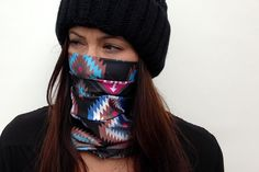 Celtek Womens Hadley Snowboarding Face Mask in native