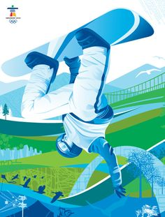 Vancouver Olympics graphics – a little comparative photo essay Branding, Sports Graphic Design, Sport Design, 2010 Winter Olympics, Identity, Sports Graphics, Winter Games, Photo Essay, Kids Sports