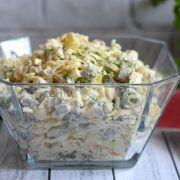 Sałatka śledziowa Potato Salad, Salads, Potatoes, Ethnic Recipes, Food, Cooking, Potato, Essen, Meals