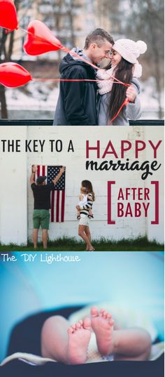 How to keep your marriage happy and vibrant after baby comes along. With these tips, married life only goes up!