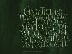 Brush & Pen Calligraphy by John Stevens, via Behance