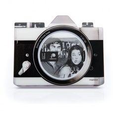 Porta Retrato Camera Retro Novo