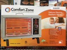 COMFORT ZONE CZ550 DELUXE RADIANT HEATER Radiant Heaters, Electronic Appliances, Comfort Zone, Jukebox, Electronics, Consumer Electronics