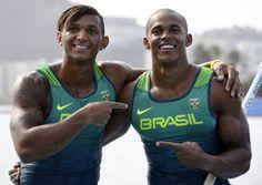 Isaquias Queiroz e Erlon levam a PRATA na canoagem