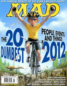 Cover for MAD (EC,1952 serie) #519 February 2013
