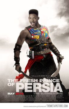 Fresh Prince of Persia…