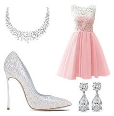 """""""Pink Freak"""" by fabulousgirls101 on Polyvore featuring Casadei"""