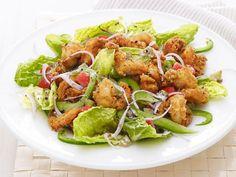 Get Popcorn Shrimp Salad Recipe from Food Network