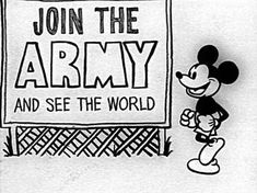 """TIL """"Mickey Mouse in Vietnam"""" an underground cartoon short depicting Mickey Mouse being killed during the Vietnam War was directed by Whitney Lee Savage father of the Mythbuster Adam Savage."""