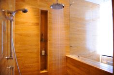 recessed skinny shower shelf