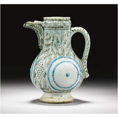 A Kütahya jug with moulded decoration, Turkey, 18th century | Lot | Sotheby's