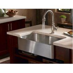 Kohler k3086 stainless apron sink-Yes!