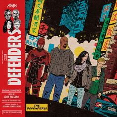 Marvel's The Defenders - Original Soundtrack 2XLP (PRE-ORDER)