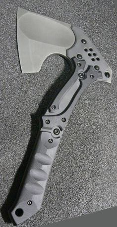 Japanese Nemoto Tactical Hatchet Axe. Passionate pursuit of drool worthy amazing gear. Ultimate armory of quality knives, EDC, firearms, weapons, gadgets, fashion items & toys for the grown up. @aegisgears