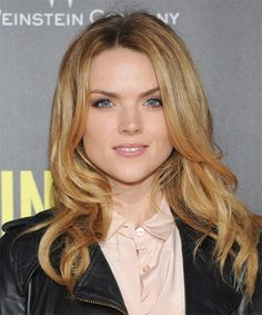Erin Richards Long Straight Hairstyle.
