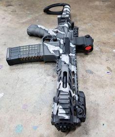 AR Parts for Custom Rifles Airsoft Guns, Weapons Guns, Guns And Ammo, Rifles, Armas Airsoft, Camo Guns, Armas Ninja, Ar Build, Ar Pistol