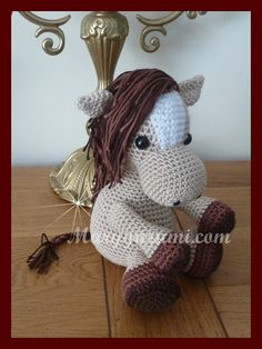 Hey, I found this really awesome Etsy listing at https://www.etsy.com/listing/241663499/horse-plush-crochet-amigurumi