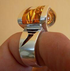 ALIEN  RING by MOSHIKOART on Etsy, $220.00