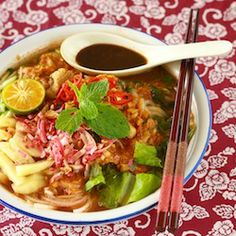 the best homemade family traditional authentic Penang assam laksa recipe