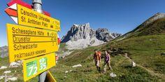 Prättigauer Höhenweg: in 4 Tagen von Klosters nach in die Bündner Herrschaft, nach Malans