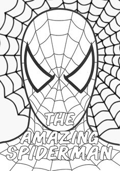 The Amazing Spiderman Superhero Action Movies Marvel Coloring Pages DesignKids Make your world more colorful with free printable coloring pages from italks. Our free coloring pages for adults and kids. Cool Coloring Pages, Free Printable Coloring Pages, Coloring For Kids, Adult Coloring Pages, Coloring Sheets, Coloring Books, Spiderman Coloring, Marvel Coloring, Spiderman Pictures