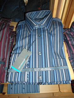 Dress shirt at Winston's Men's Wear in Goderich, Ontario.