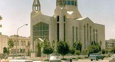 عکسی از کلیسای سرکیس مقدس در خیابان کریم خان زند نبش ویلا (نجات الهی  #ایران #ایران_قدیم #ایران_قدیمی