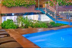 Gym next to the swimming pool area | Hotel Kaktus Playa