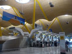 Aeroporto em Madri