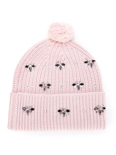 Shop designer accessories for women at Farfetch and find belts, wallets, hats, scarves and more from your favorite brands. Crochet Girls, Crochet Bunny, Knit Crochet, Crochet Hats, Cute Beanies, Pink Beanies, Girls Accessories, Fashion Accessories, Baby Girl Clipart
