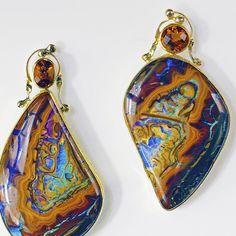 The Kalled Gallery — Koroit Opal Earrings