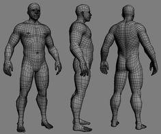 Body retopology Edgeflow - Google 検索