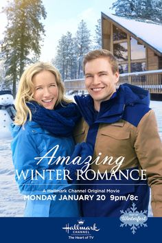 holiday movie On January Julia (Jessy Schram) finds that back home might just be where her heart is when she reunites with Nate (Marshall Williams). Dont miss Amazing Winter Romance on Hallmark Channel, part of Winterfest. Family Christmas Movies, Hallmark Christmas Movies, Holiday Movie, Family Movies, New Movies, Good Movies, 2020 Movies, Hallmark Channel, Películas Hallmark