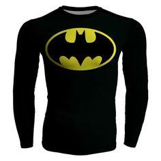 Robin /& Batgirl NIGHT CREW Adult Long Sleeve T-Shirt S-3XL Batman
